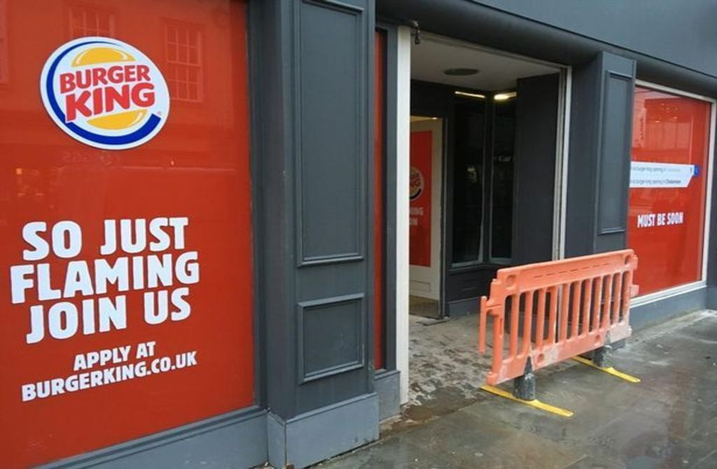 Burger King Uk This Is When Burger King In Cheltenham Is
